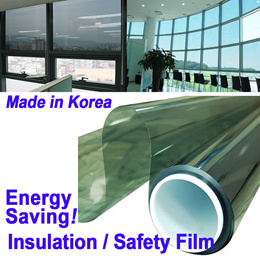 Window Solar Film★Glass Insulation /UV Blocking Rate 99%/Infrared cut 99%★Privacy/Typhoon Protection