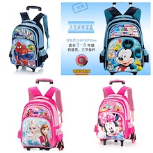 *SG SELLER* Kids Trolley School Bag / Trolley Bag / Backpack / Luggage