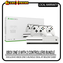 Microsoft Brand New Xbox One S Console with 2 x Controllers Bundled. Local Stock and Warranty