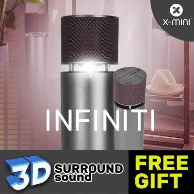 *Limited Free Gift* X-mini™ INFINITI 360° 3D Speakers Deals for only S$569.9 instead of S$0