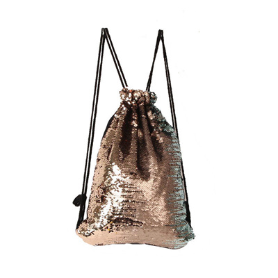 shop Women Sequins String Backpack Glittering Bling Bags Reversible Glitter  Drawstring Bags For Wome 50fab7803453