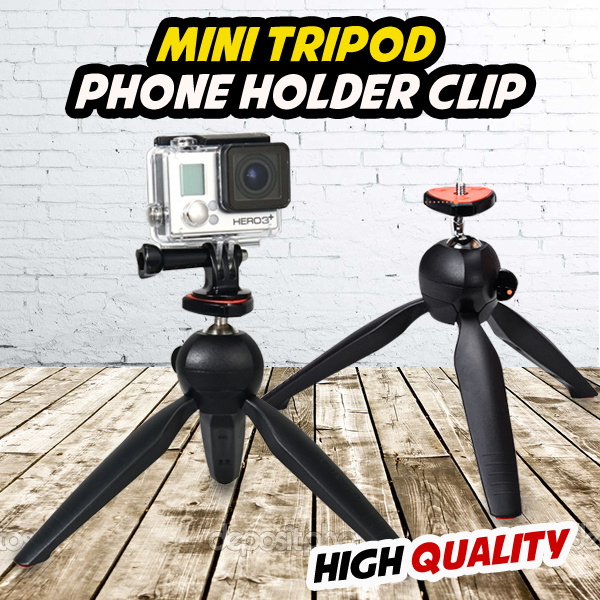 [ONLY 3 days ] Special Promotion Mini Tripod Deals for only Rp37.500 instead of Rp70.755