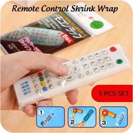[SG Local Fast Delivery] 5pcs of Japan Remote Control Shrink Wrap ★ Plastic Protection Film Cover