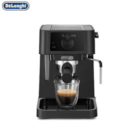 DeLonghi EC230.BK coffee maker Semi-automatic 1L grind pod Separable water tank 2 cup extraction New