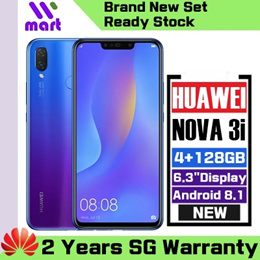 (Local) Huawei Nova 3i 4+128GB l Samsung Galaxy A30A50 4+64GB (1 or 2 Years  Local Warranty)