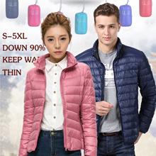 2017 New winter jacket Light feather coat  Men and Women waer hoodie down jacket autumn jacket