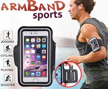 Adjustable Waterproof Sport Armband Smart Phone Holder/Bag Case