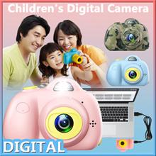 Mini LSR Cam Digital Camera for Kids Baby Cute Cartoon Multifunction Toy Camera Children Xmas Gift