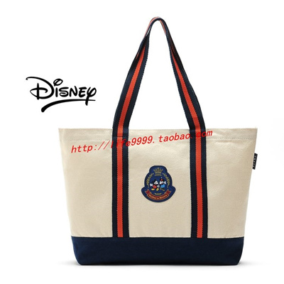 478342b79 Disney Mickey in Japanese magazine Appendix College style shoulder bag  embroidery canvas shopping ba