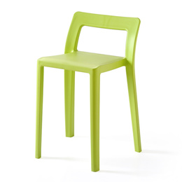 Japanese modern minimalist stool, home dining chair, office seat, stool, bar chair, household plasti