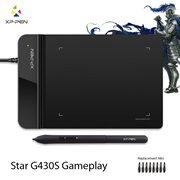 XP-Pen®G430S 4 x 3 inch Ultrathin Graphic Drawing Tablet/Pen Tablet for OSU with Battery-free stylus