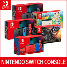 [Ready Stock] Nintendo Switch Console Collection / Neon Gray / Animal Crossing / Red Blue / Monster