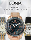 PROMO BONIA LUXURI BRANDED WATCHES | 100% ORIGINAL