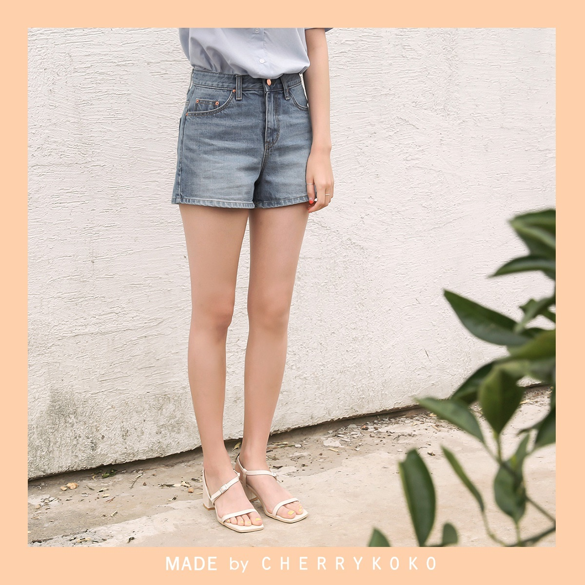 [CHERRYKOKO官方旗艦店] Jean Shorts / good body jeans