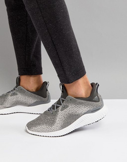 3568b616544 adidas Running Alphabounce Sneakers In Gray DB 1091