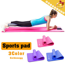 Free Delivery ▶Wider and thicker Anti-skidding Yoga mat◀GCA- High resilience / Odourless / delicacy material just as baby skin/ Indoor sports for health