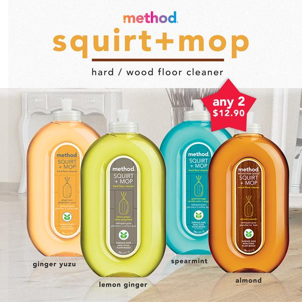 Buy 2 For 1290 Method Floor Cleaner Squirtmop Hard Or Wood