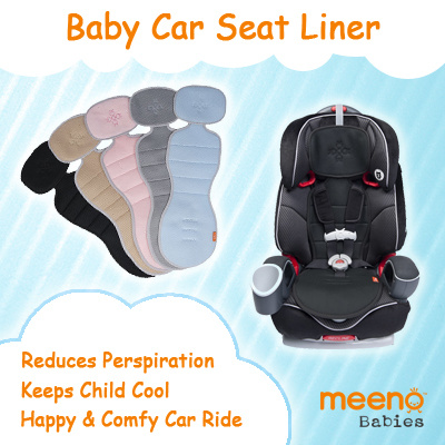 Fit To Viewer Prev Next Meeno Babies Baby Car Seat Liner Stroller USA Cooling