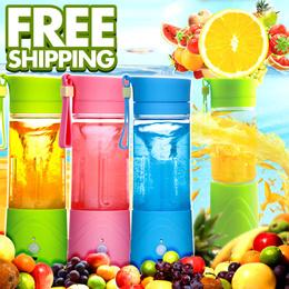 Super Convenient Fruit Blender With Travel Sport Bottle/Portable Fruit Juice Mixer/Fresh Vegetable Infuser Blender/Water Bottle/Sport Health Juice Maker/Color Optional