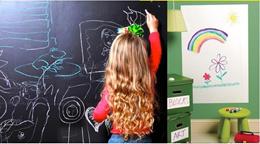 Chalkboard Blackboard /Whiteboard Wall Sticker Wall Black board White board Free Marker Pen/ chalk