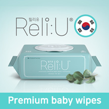 [GREENFINGER] Korea No.1 Brand ReliU Baby Wet Wipes ♥ PREMIUM Quality / Baby Skin / Thick