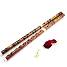 Traditional Chinese Musical Instrument Handmade Dizi Bamboo Flute in G Key