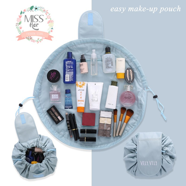 ?FREE SHIPPING?Easy Storage Makeup Pouch Mini Clutch Travelling Bag Deals for only S$49.9 instead of S$0