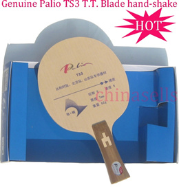 1pcs free ship Genuine table tennis blade Palio TS3 quick attack looping style Ti+Carbon ply5+2+2 ra