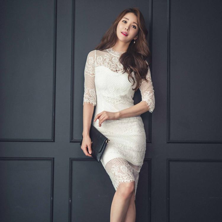 ★韓国ファッション2017夏  新作★セクシーカットセクシーワンピース★ パーティードレス  ワンピース パーティー ドレス ワンピ ミニドレス ショートドレス 結婚式 二次会 2次会