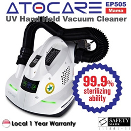 ATOCARE EP505 - BEST Anti Dust Mite Bacteria Allergy UV Vacuum Bed Cleaner Sterilizer ★ etc - KOREA