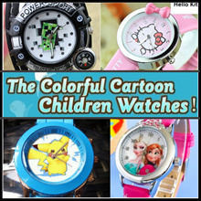 Kids School Waterproof Sports Watch★Sofia★Frozen★Peppa★Minecraft★Slap Watches/Digital/Gift/Pokemon