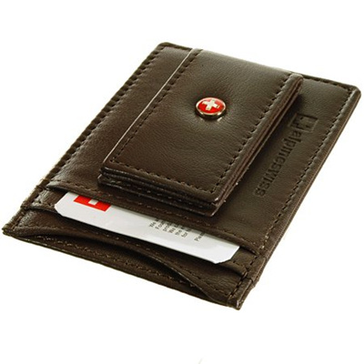 ICCUN wallets for men Thin Credit Card Holder Thin Slim pocket wallets Money Clips