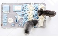 Snuffle Mat Nose Work Dog Cat Pets Sniffing Mat Toys