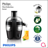 Philips: VIVA Collections and Compact Juicer HR1832/00 - 50% OFF
