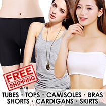 Fashion Sale $3.90★Tubes★Top★Camisole★Bra★Shorts★Cardigan★Skirts★Fast Delivery