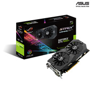 ASUS ROG Strix GeForce GTX 1050 Ti OC edition 4GB GDDR5 with ASUS Aura Sync  G-SYNC™ for best 1080p