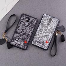 Redmi 5、5A、5 Plus、Note 5A Lace relief phone case cover