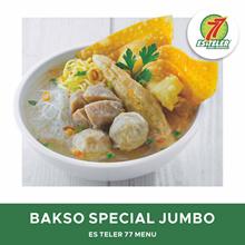 [FAST FOOD] Es Teler 77 Bakso Super Spesial Jumbo