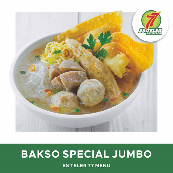 [FOOD] Es Teler 77 Bakso Super Spesial Jumbo Deals for only Rp35.000 instead of Rp35.000