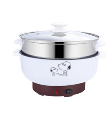Electric wok multi-function household pot small mini electric skillet 1-2 people 3-4