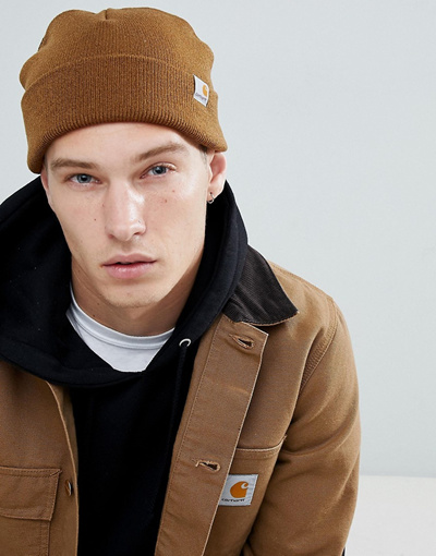 Qoo10 - Carhartt WIP Watch low beanie in brown   Sportswear 1c23abc3f1f5