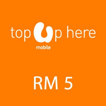 [Mobile App Only]Umobile instant Top UP RM 5