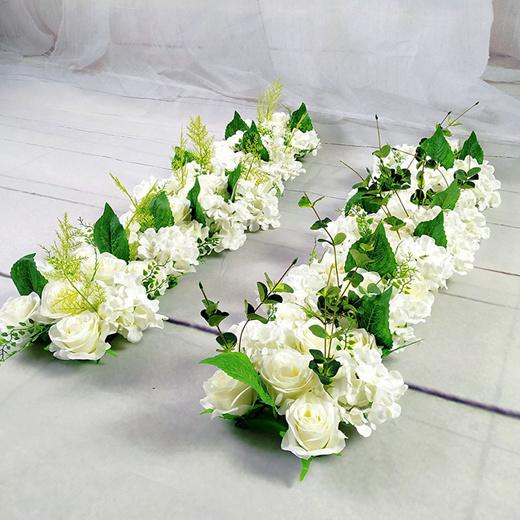 Qoo10 Luxury Wedding Road Cited Flowers Silk Rose Peony Hydrangea Diy Arched Furniture Deco
