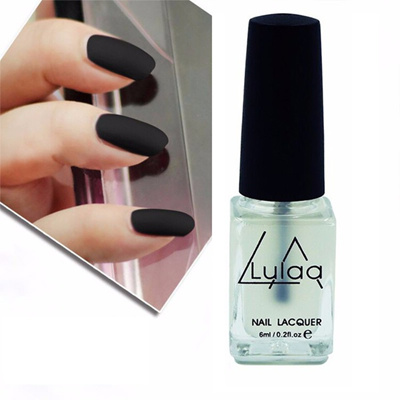 LULAA 1pc Matte Nail Polish 6ml DIY Nail Design Art Not Need Led Lamp