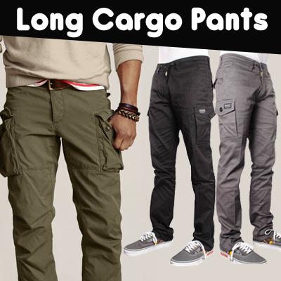 LONG CARGO PANTS ( CELANA CHINO CARGO PANJANG SLIMFIT ) / celana / cargo / celana