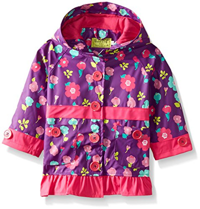 4T Frozen Anna and Elsa Western Chief Kids Disney Character lined Rain Jacket
