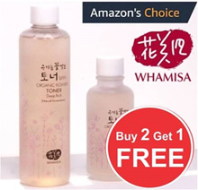 [BUY 2+1 FREE ] ♥ORGANIC FLOWER FERMENT DEEP RICH TONER♥ORIGINAL ♥ REFRESH ♥ WHAMISA ♥