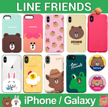 ★ LINE FRIENDS ★ Line Jelly / Bumper / Card Case ★ iPhone X iPhone 8 iPhone 7 ★ Galaxy Note8 S9 S8 ★