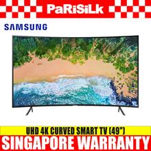 SAMSUNG UA49NU7300KXXS UHD 4K Curved Smart TV (49-inch) - Singapore Warranty