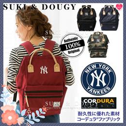【SG DISTRIBUTOR】100% AUTHENTIC ★ NEWYORK YANKEES logo BACKPACK ★ CODURA quality luggage travel bag